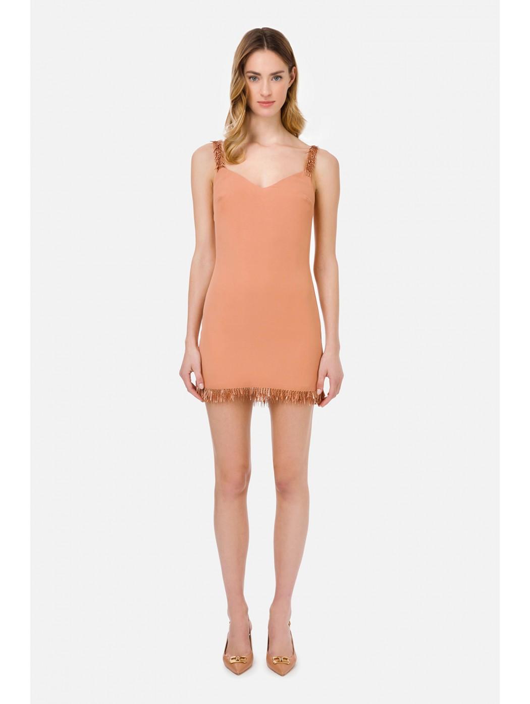 Mini dress con ricamo...