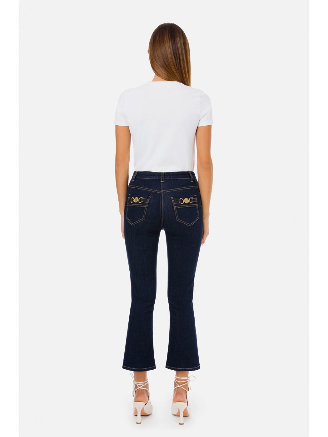 Jeans zampetta Elisabetta Franchi ELISABETTA  FRANCHI PJ83S11E2 104