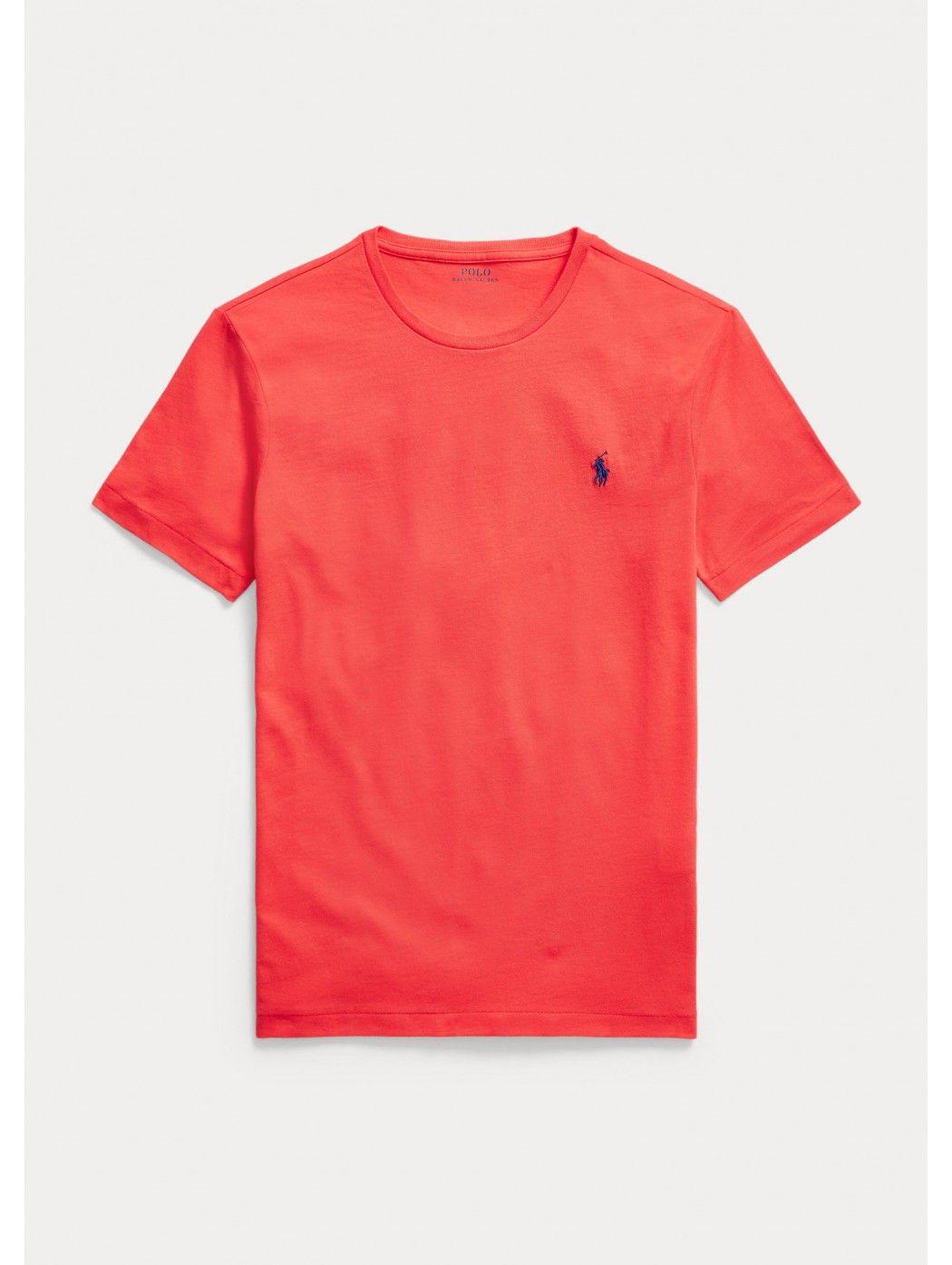 Maglietta in jersey Custom Slim-Fit POLO RALPH LAUREN UOMO 710671438 213