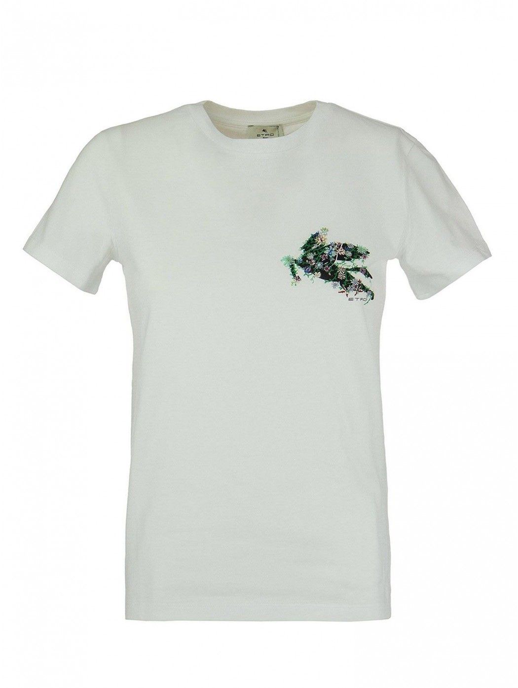 T-SHIRT FITTED JERSEY ETRO DONNA 145147957 0990