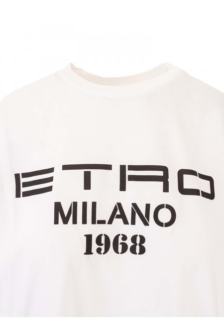 T-SHIRT OVER JERSEY ETRO DONNA 145179468 0990