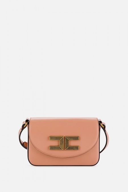 Box bag media con logo Elisabetta Franchi ELISABETTA  FRANCHI BS14A11E2 K14