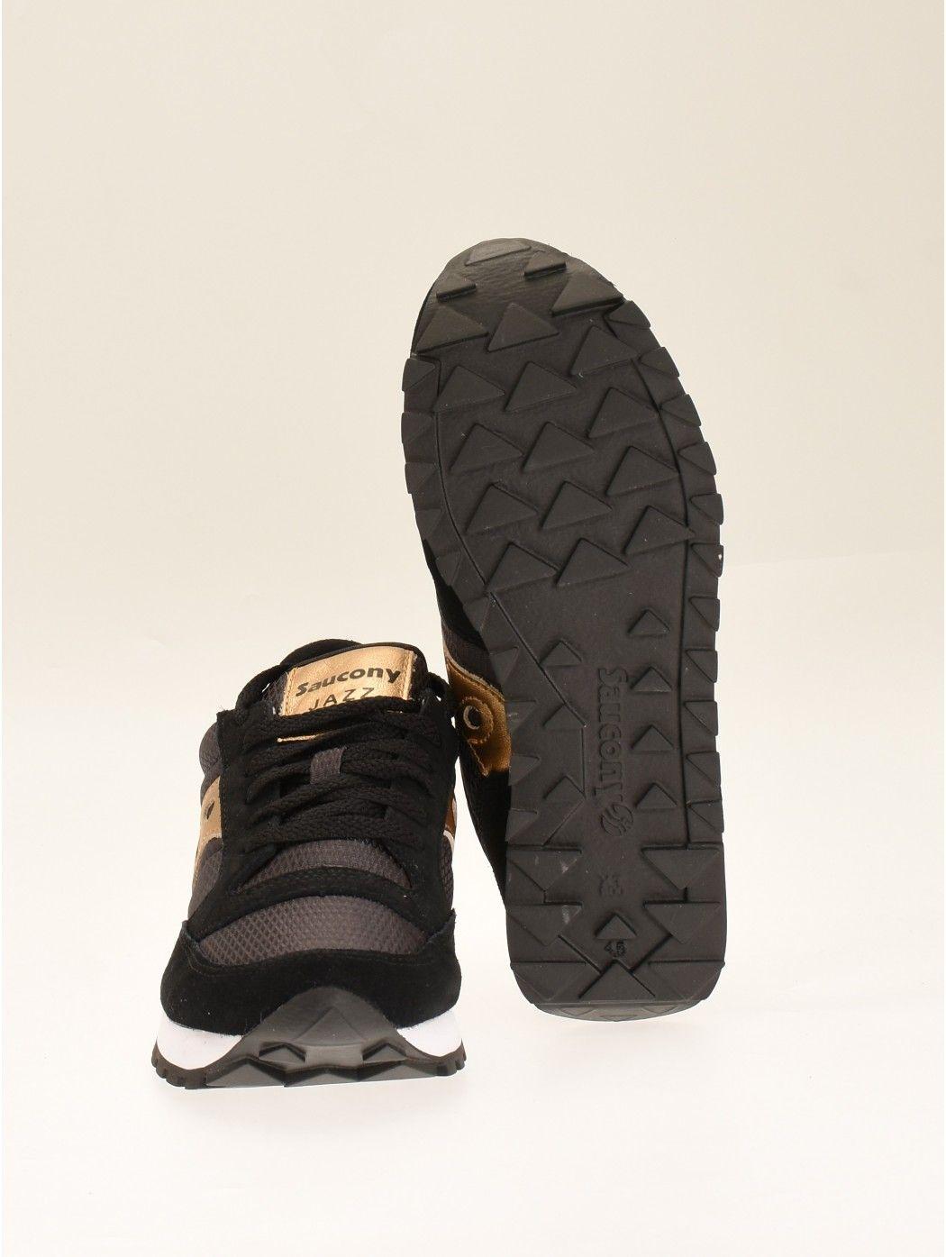 JAZZ O W BLACK/GOLD SAUCONY S1044 521