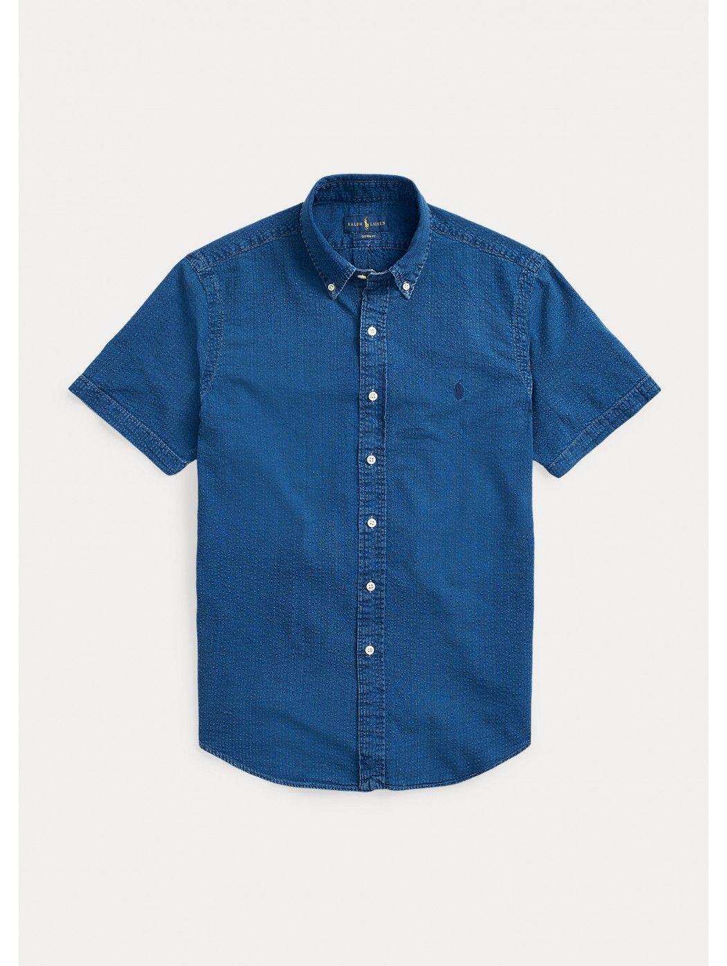 Camicia in seersucker Slim-Fit POLO RALPH LAUREN UOMO 710795252 003