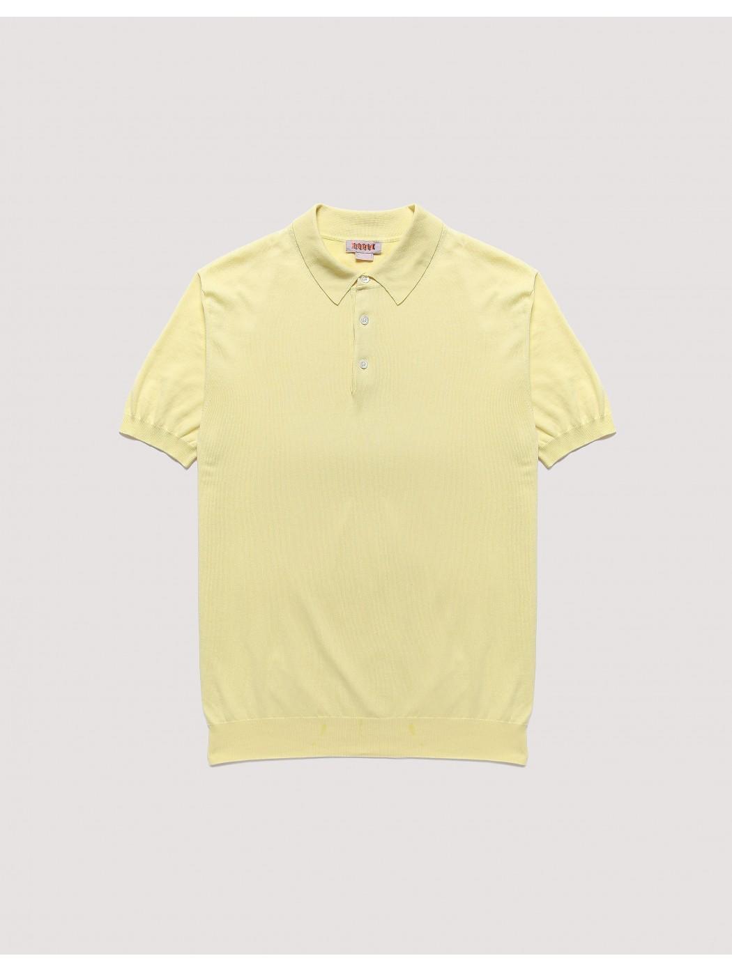 Ss Polo Knit Paglia BARACUTA BRMAG0003BKNT1 2078