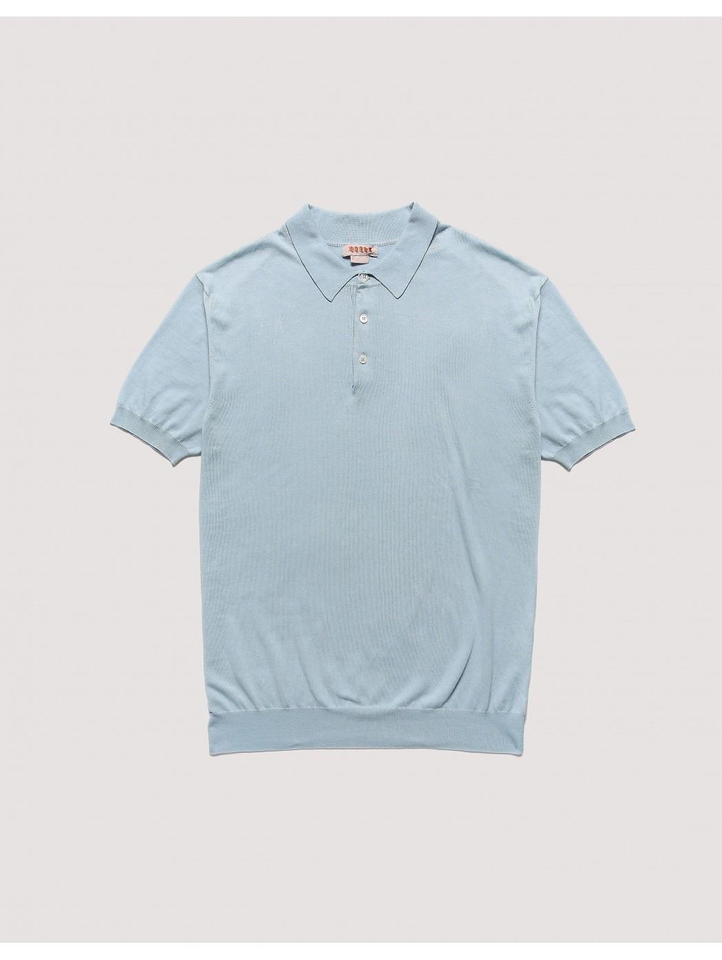 Ss Polo Knit Nuvola BARACUTA BRMAG0003BKNT1 349