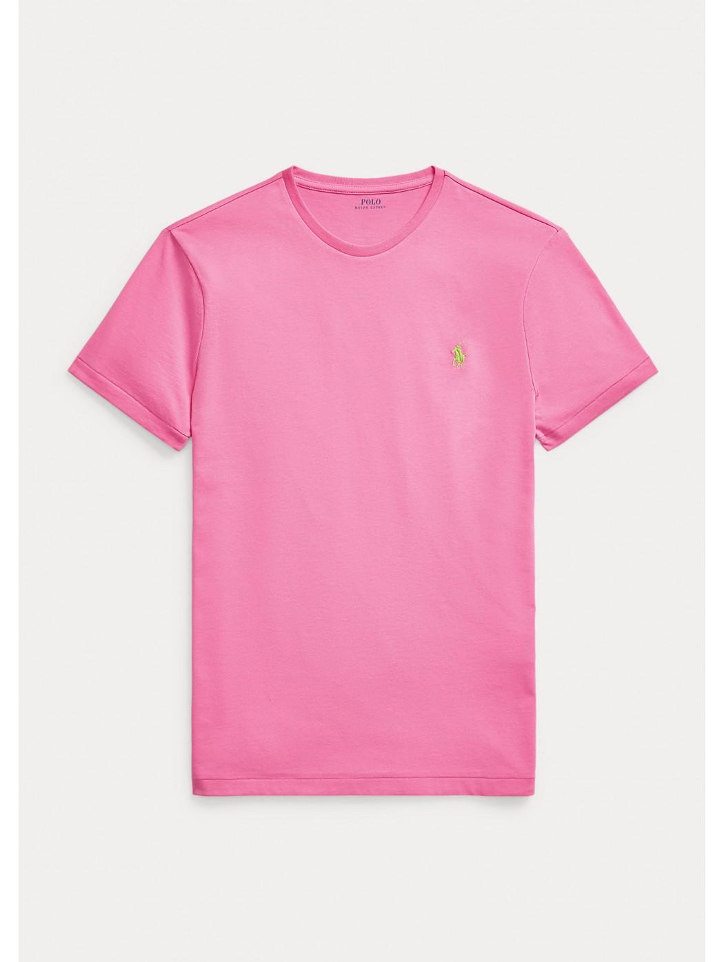 Maglietta in jersey Custom Slim-Fit POLO RALPH LAUREN UOMO 710671438 219