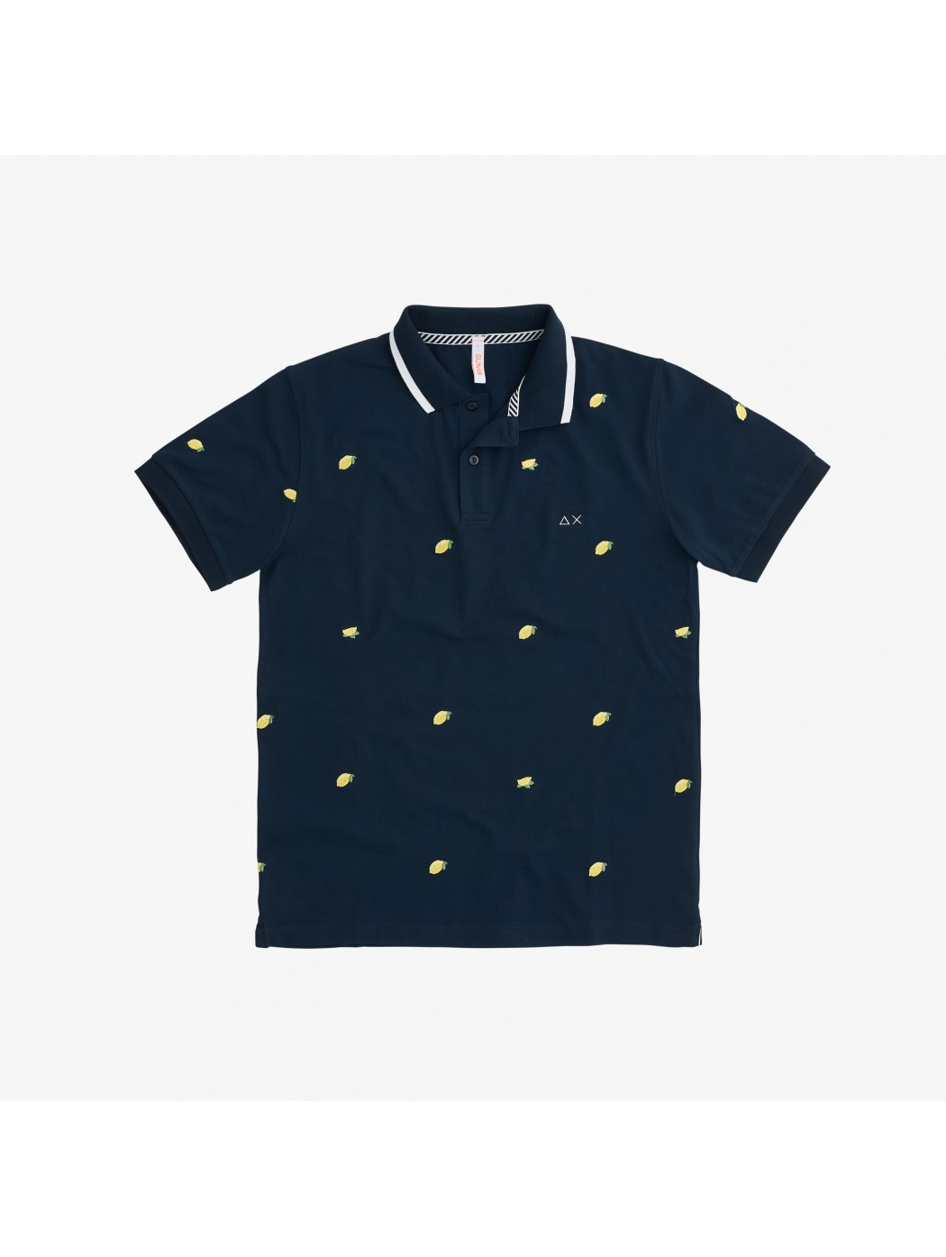 POLO FULL EMBRODERY EL SUN68 A31126 07
