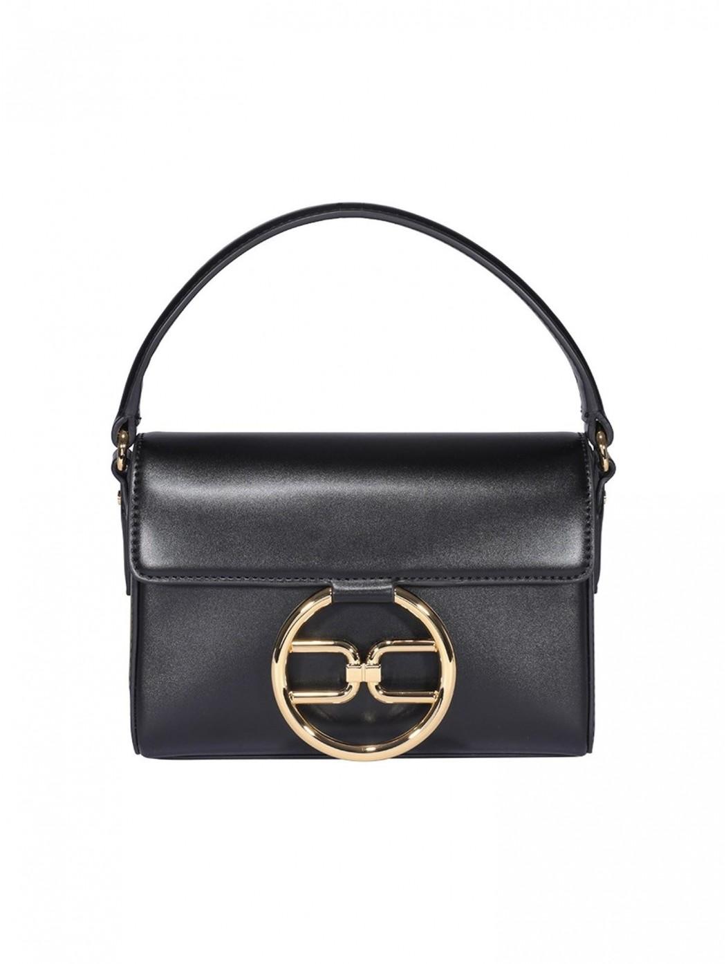Little bag Elisabetta Franchi con logo pendente ELISABETTA  FRANCHI BS04A11E2 110