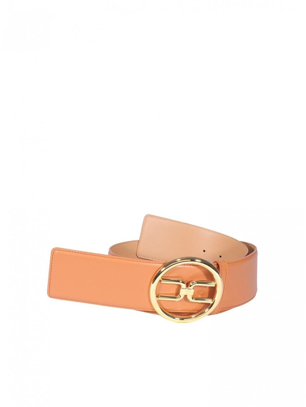 Cintura a vita alta con logo gold Elisabetta Franc ELISABETTA  FRANCHI CT11S11E2 600