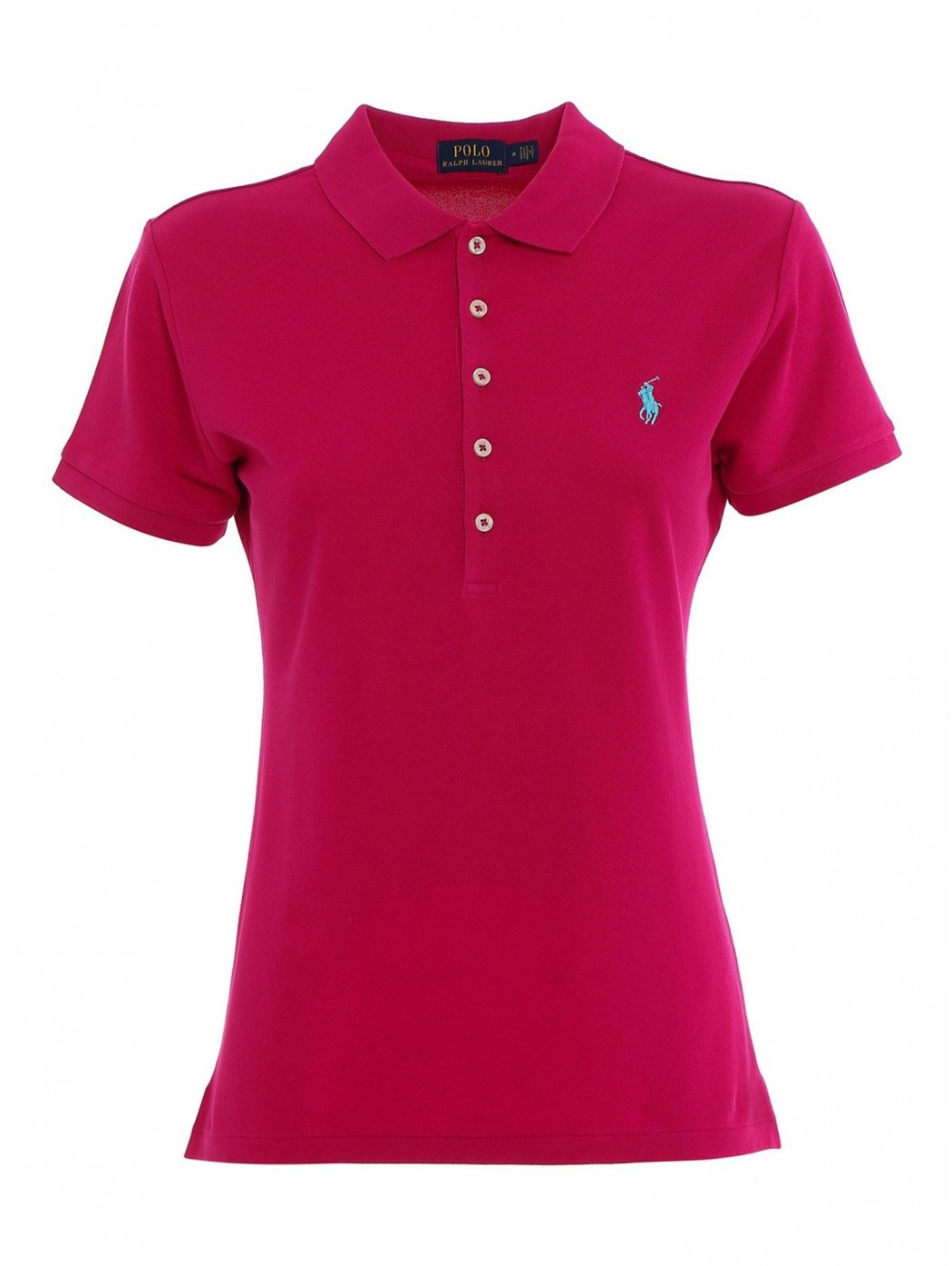 POLO SLIM FIT IN COTONE PINK POLO RALPH LAUREN DONNA 211505654 159