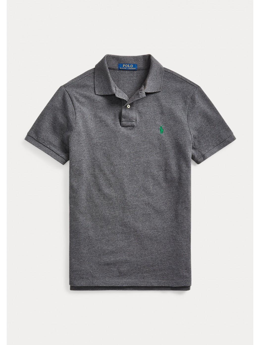 Polo in piqu' Slim-Fit POLO RALPH LAUREN UOMO 710795080 008