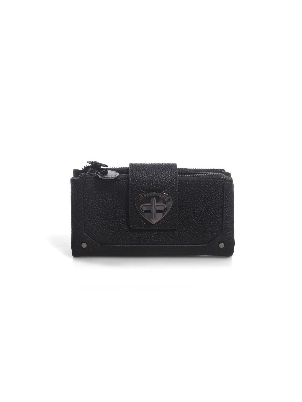 Papaya Wallet POWER Black LE PANDORINE PE21DBJ02805 04