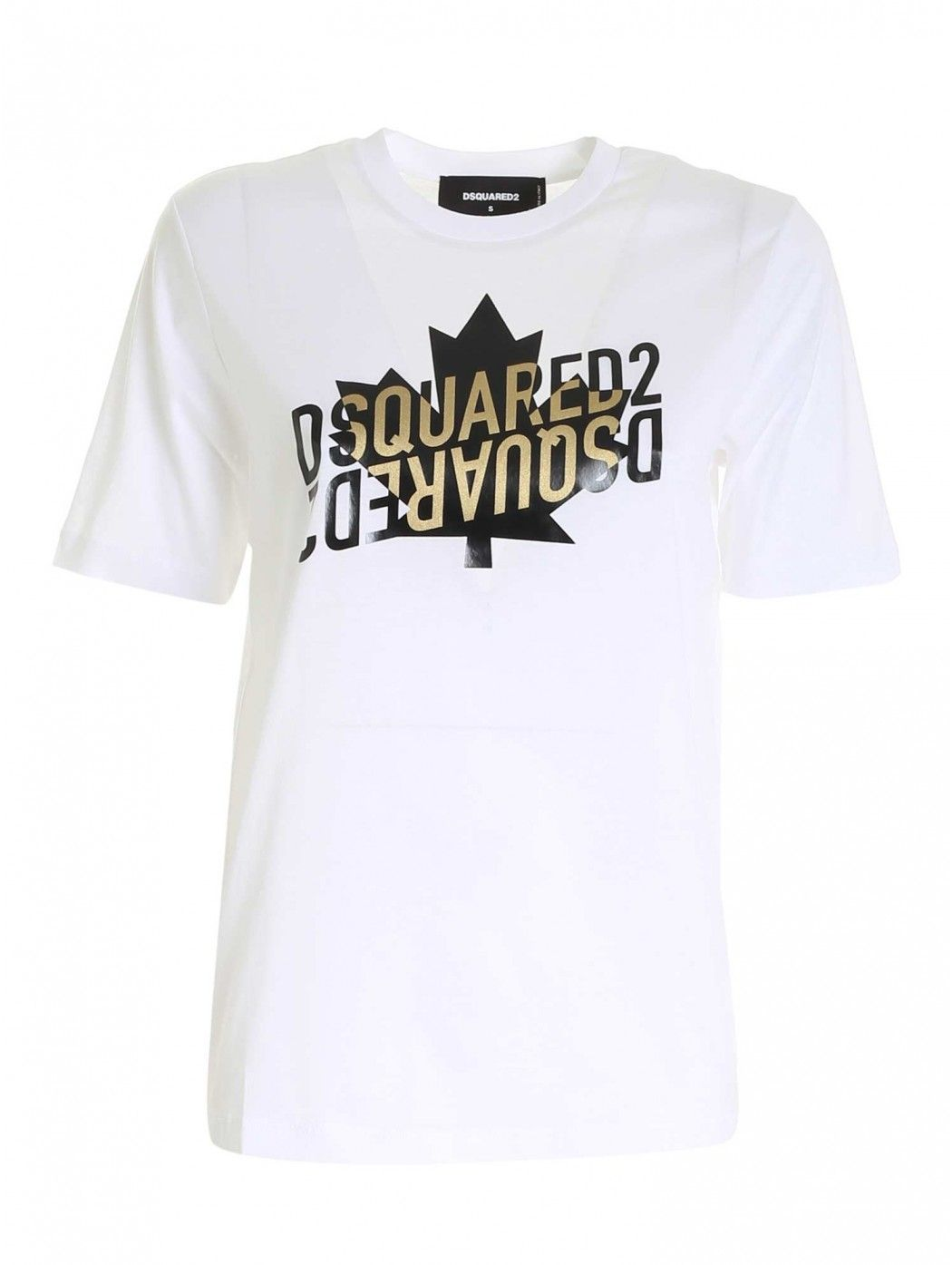 T-SHIRT IN COTONE BIANCO...