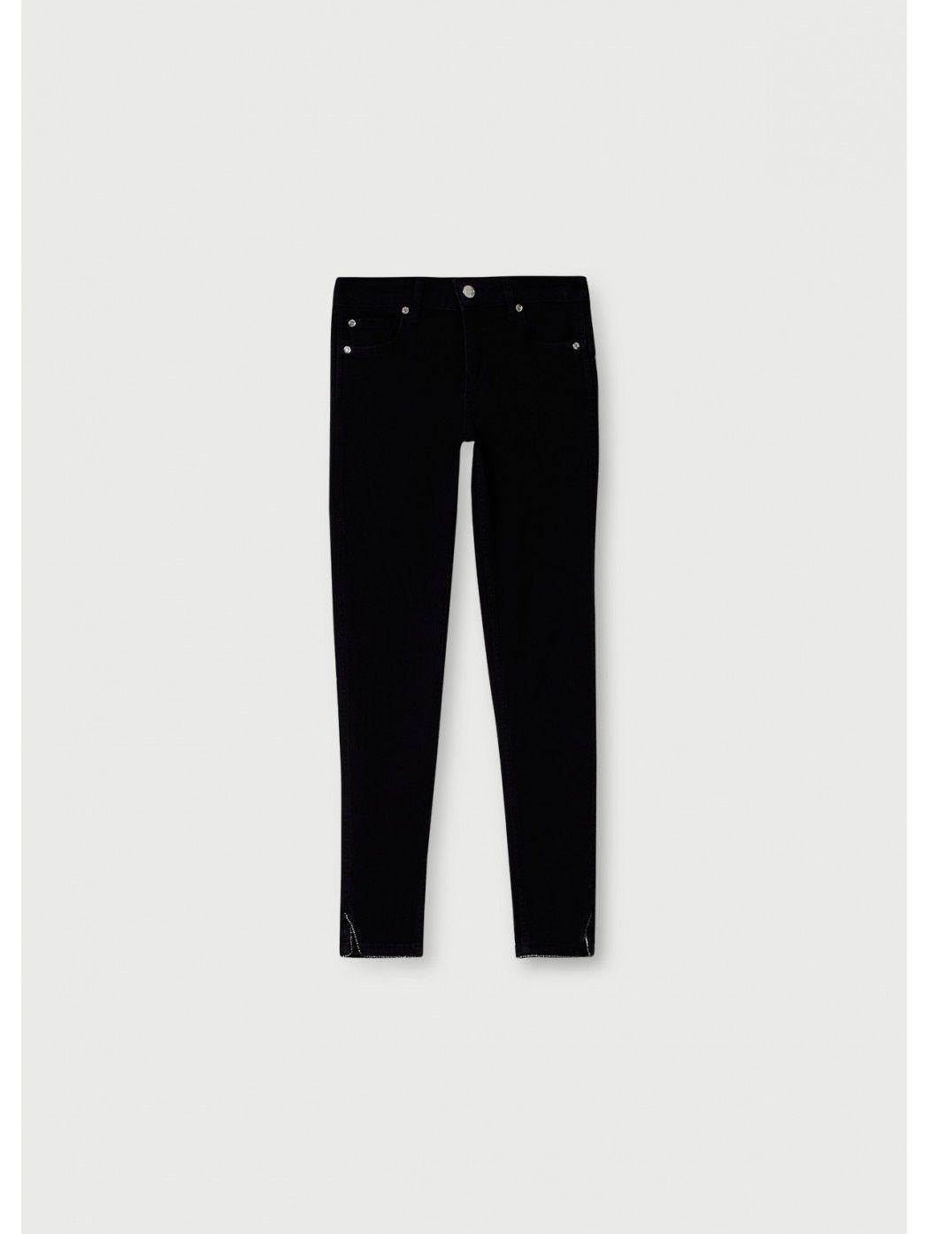 Jeans skinny con strass LIUJO JEANS CORE UA1012D4188 87177