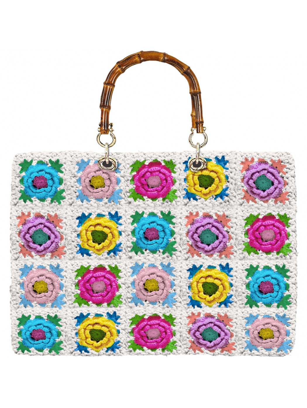 CROCHET TOTE VICTORIA SAINTBARTH MC2 VIC0004FLPC 01