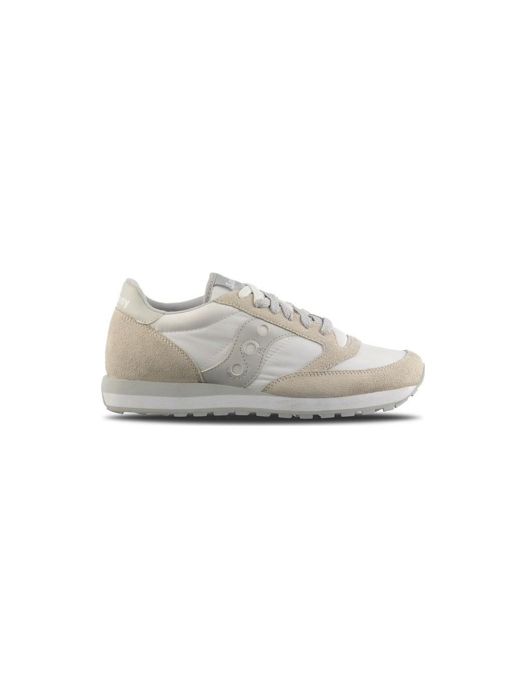 JAZZ O WHITE/GREY SAUCONY S2044 396