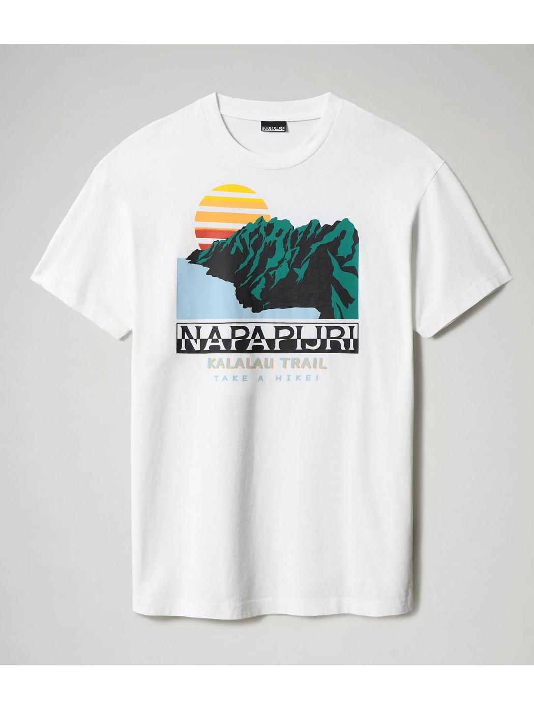 T-shirt a manica corta Alhoa NAPAPIJRI NP0A4F5M F4O1