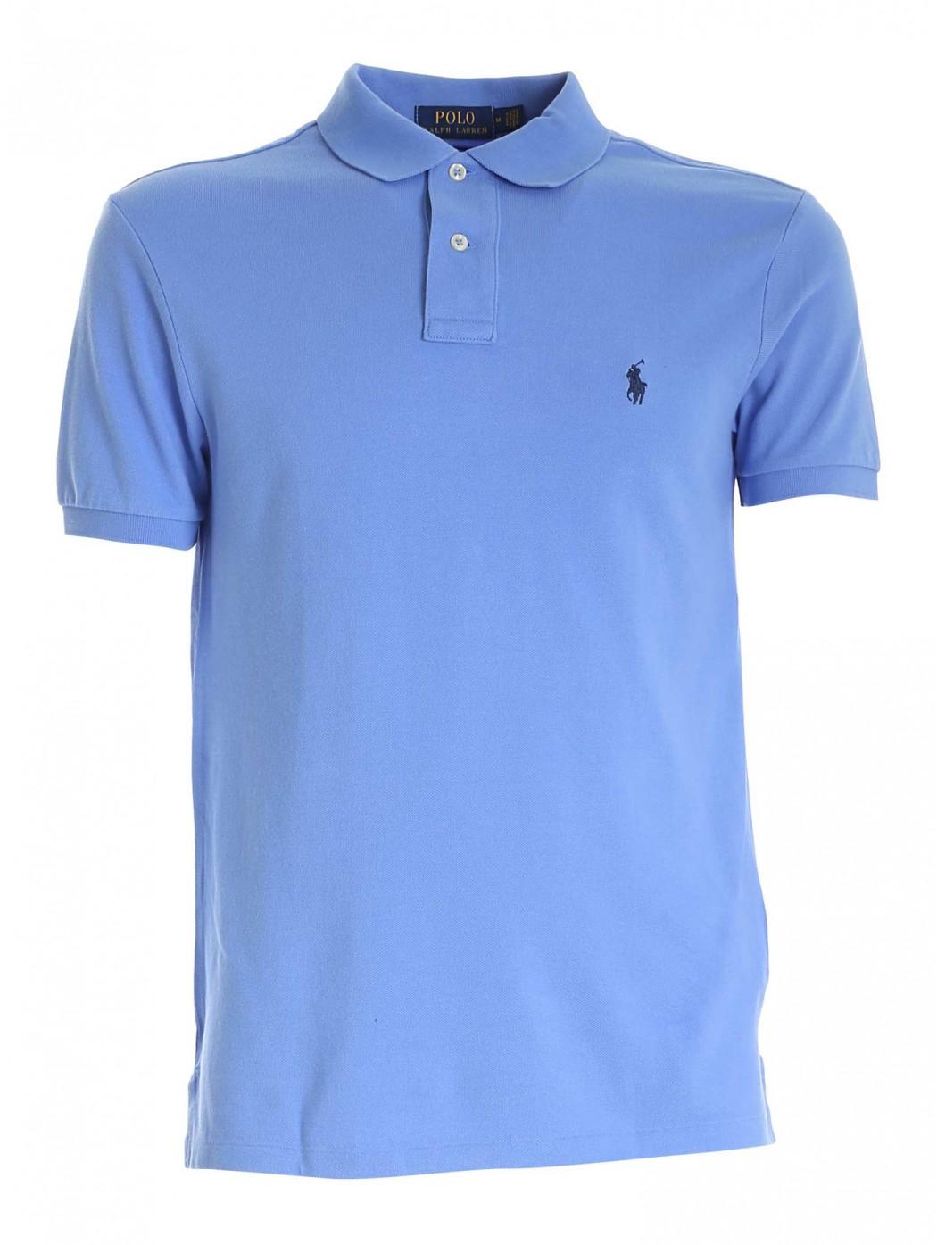 Polo in piqu' Slim-Fit POLO RALPH LAUREN UOMO 710795080 015