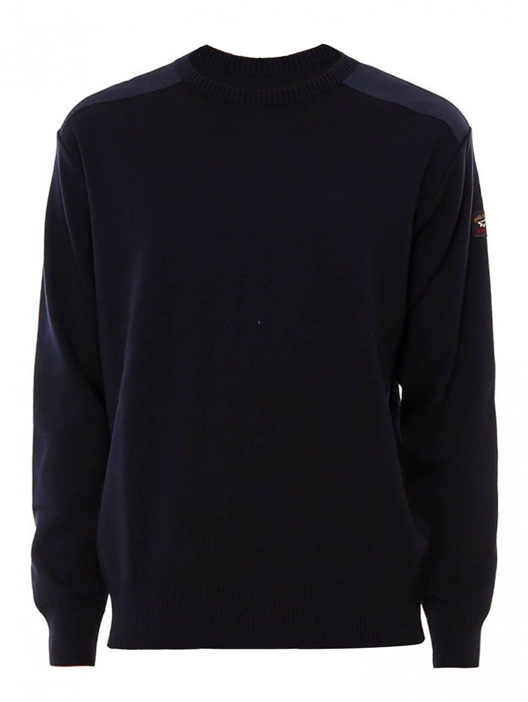 WOOL CREW NECK WITH...
